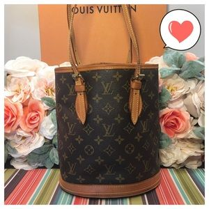 Louis Vuitton Authentic Bucket Pm